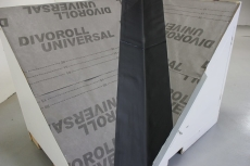 Skotrendesæt i Rhepanol 15 m grå, kan tilpasses i længden
