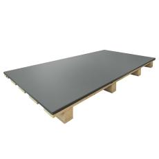 VMZINC QZ plade 0,8 x 1000 x 2000 mm, 250 kg, med folie 990