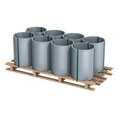 COIL, PREPATINA WALZBLANK 0,80 X 670 X 30000 PALLE 800 KG
