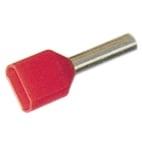 Tylle Isolerede dobbel 2x1,5 mm² rød A1,5-8ETW2