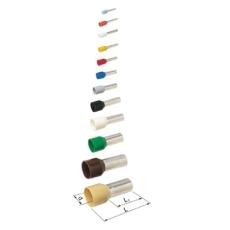 Tylle Isolerede 0,75 mm² hvid A0,75-8ET