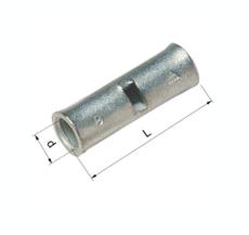 Pressemuffe CU KS 4 mm², klasse 2 og 5