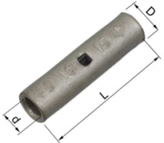 Pressemuffe CU KSF 95 mm², klasse 2 og 5