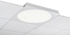 Indbygningsarmatur C90-R600X600 LED 3600 Dali 840 LI CI/OP