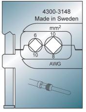 Bakke for global power 6-10 mm2
