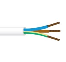 Ledning PKAJ 3G1 lysegrå R50