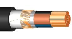 Kabel FXQJ 4x25/16 DCA, sort, T500