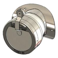 Baxi trækstabilisator Ø130 mm
