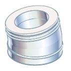 """5"""" Metalbestos Multi50 vinkelstykke 15°"""
