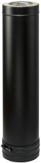 130mm Metalbestos Wood længde 1000mm