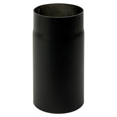 200 mm Metalbestos Sorte røgrør længde 250 mm x 2 mm