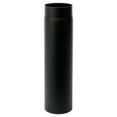 130 mm Metalbestos Sorte røgrør længde 1000 mm x 2 mm