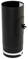 100mm Metalbestos længde 250mm m/renseklap og keramisk pakni