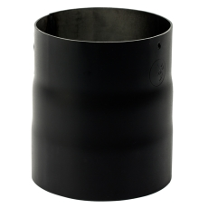 200 mm Metalbestos Sorte røgrør overgang iØ 217 mm/uØ 199 mm