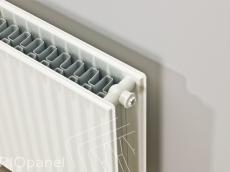 Hudevad (RIOpanel) Standard radiator t:1p/10 h:455 l: 0400 a