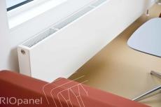Hudevad (RIOpanel) Flat Front radiator t:2psl/20sl h:955 l: