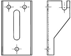 Hudevad bæringer 40mm sæt