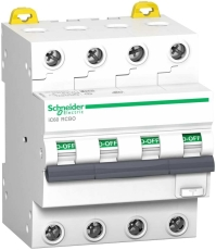 Kombiafbryder HPFI, iC60, C, 4P, 13A, 30mA 6kA, klasse A