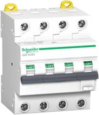 Kombiafbryder HPFI, iC60, B, 4P, 16A, 30mA 6kA, klasse A