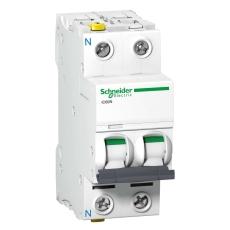 Automatsikring iC60N C 1P+N 10A 6kA