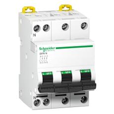 Automatsikring iDPN C 3P+N 13A 6/10kA
