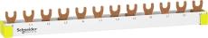 Resi9 Sløjfeskinne 3P+N, 12 modul, N-L1-L2-L3