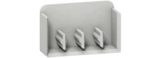 Resi9 Sløjfeskinne endestykke 4P (sæt af 10 stk)