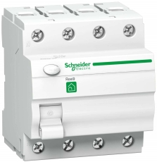 Fejlstrømsafbryder HPFI 40A 4P, 30 mA, klasse A, bolig
