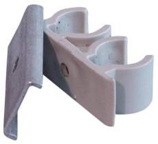 Gabotherm rørholder m/skrue & rawplugs 8 mm