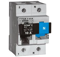 Gruppeafbryder Tytan II 2-63A 1P+N