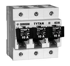 Gruppeafbryder Tytan II 2-63A 3P