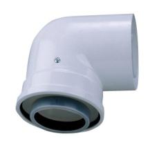 Bosch AZB 607/1 bøjning 90° Ø80/125 mm