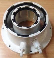 Bosch kedel adapter Ø60/100 mm
