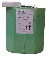 Bosch 100 liter varmtvandsbeholder til indbygning. W 100 C.