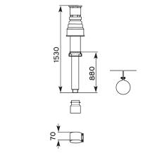 Vaillant lodret balanc aftræk Ø 80/125 mm