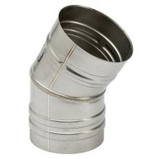 130 mm Metalbestos Omega vinkelstykke 30°