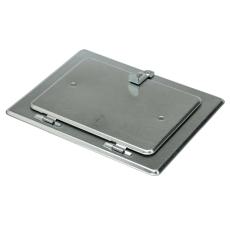 80 mm Metalbestos Omegainspektionsdør med murkarm