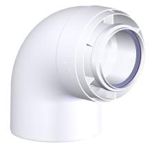 Vinkel 87° 80/125 mm Connext