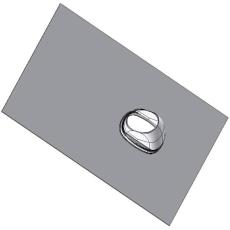 Metalbestos ConneXt inddækning 25-45° Flex. 60/100mm - 80/12