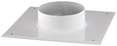 Skorstenstilslutning Ø80/125 mm kvadratisk