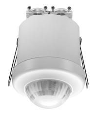Tilstedeværelsessensor 360° DALI-2 BMS, planforsænket