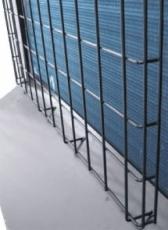 Sort beskyttelsegitter til udedel 13 & 17 kW - CS 6000 og 70