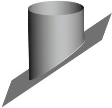 Milton Taginddækning Ø 125 mm