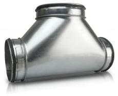 Centrisk T-rør TCL 125.250
