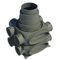Boligflex Plus Fordelerboks Inline BFP FB IL 06 06 125 160 1