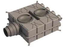 Boligflex Plus Fordelerboks BFP FB  08 125 160 180 H/V