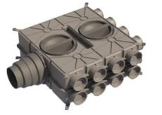 Boligflex Plus Fordelerboks BFP FB  16 125 160 180 H/V