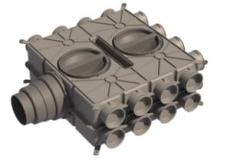 Boligflex Plus Fordelerboks BFP FB  24 125 160 180 H/V