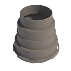 Boligflex Plus Fordelerboks Adaptor BFP FB ADAP 125 160 180