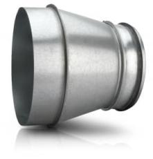 Reduktion RCLFL 188 160 - Adapter for PH ISO Taghætte Ø180